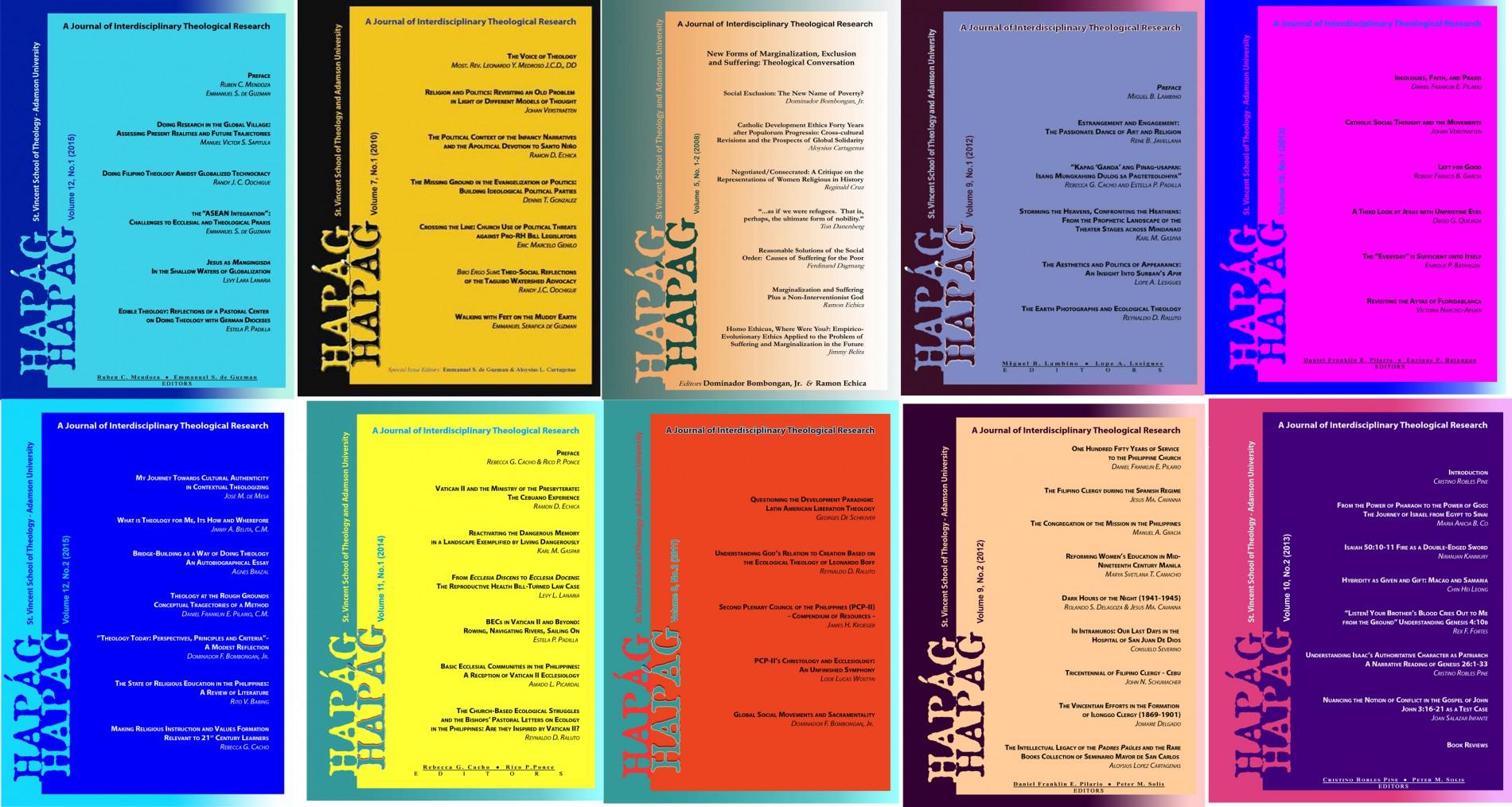 hapag-journals