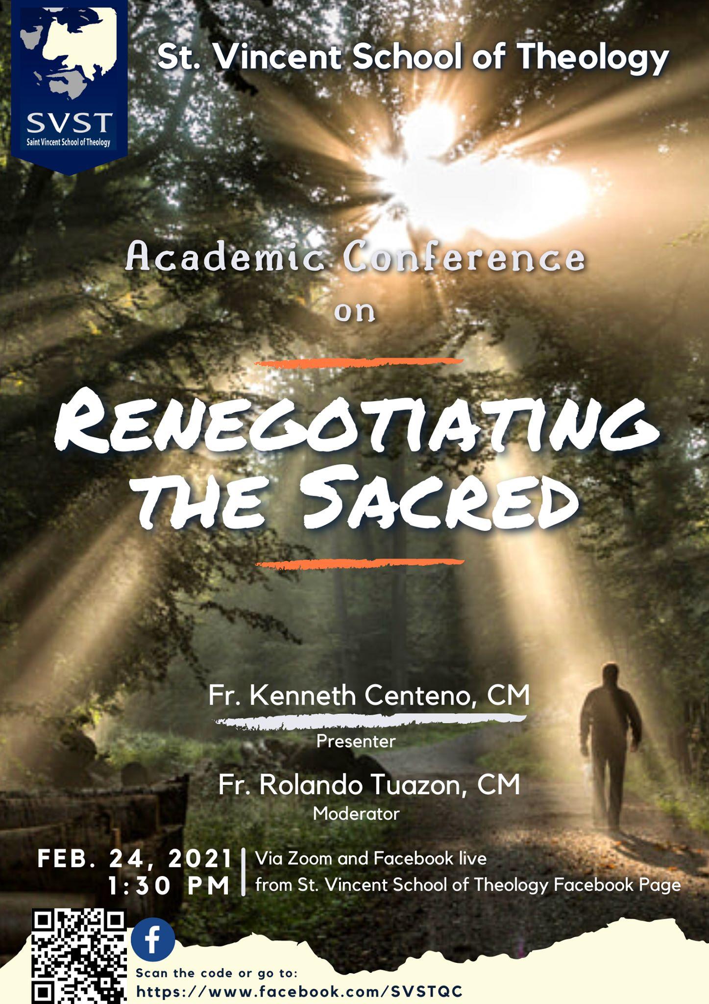 Renegotiating the Sacred